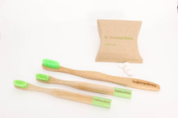 bamboo toothbrush with denttabs