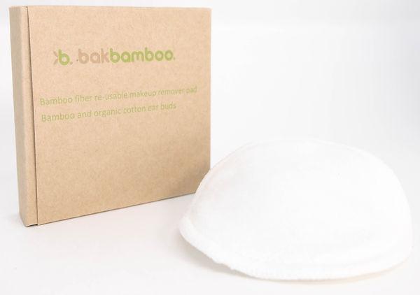bamboo fibre makeup pad