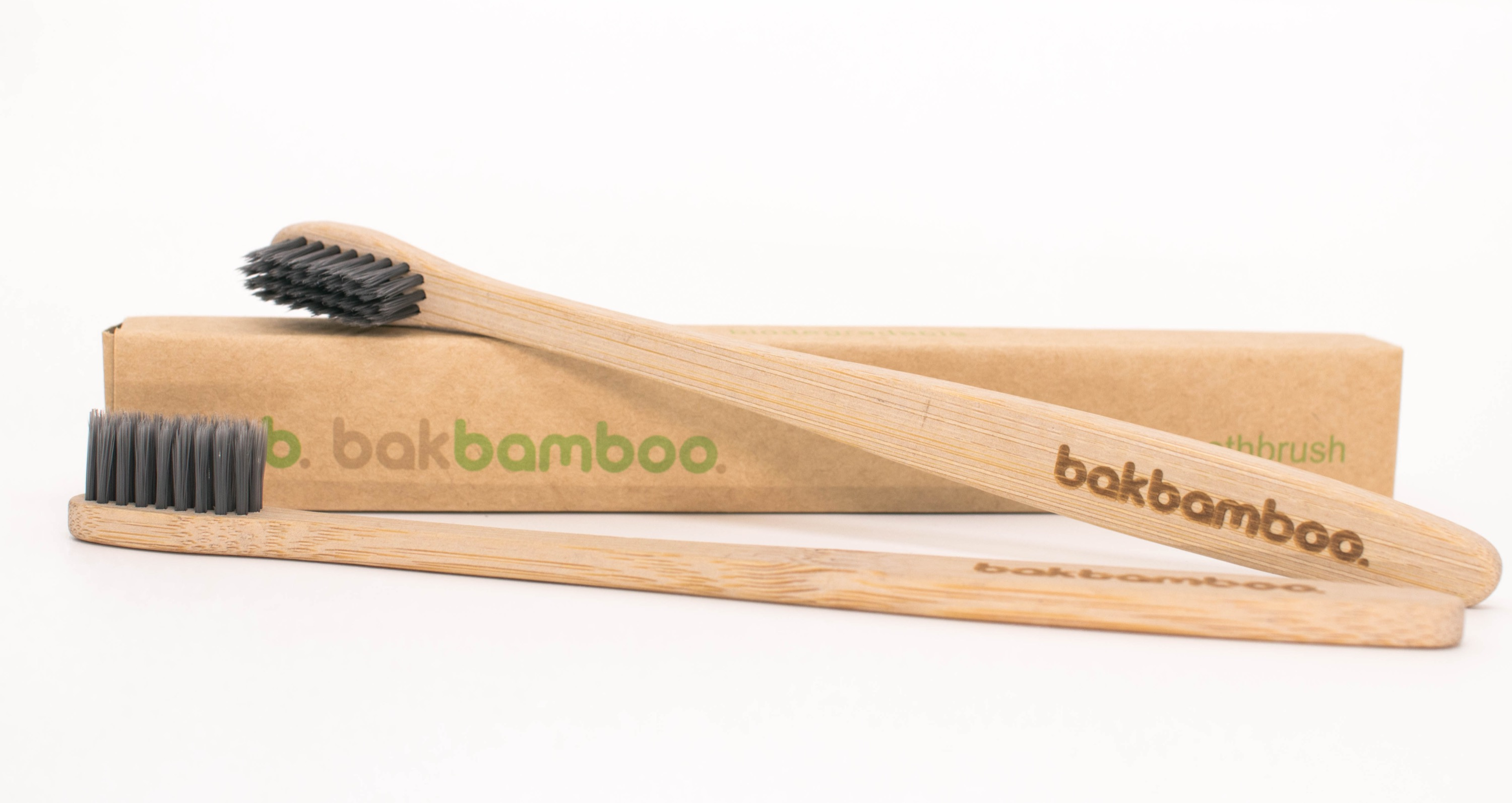 bamboo toothbrush with box.