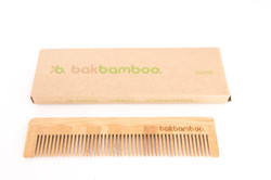 bamboo comb and box. Made by BAK Gro