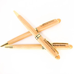 bamboo and copper pens