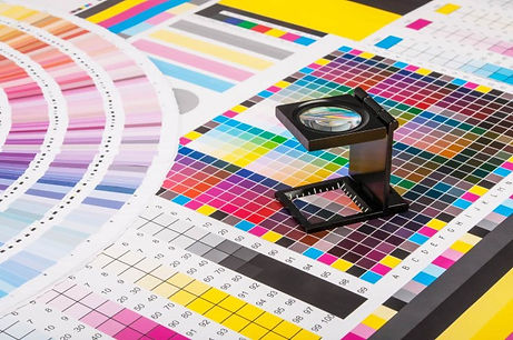 Color Proofing Target Charts