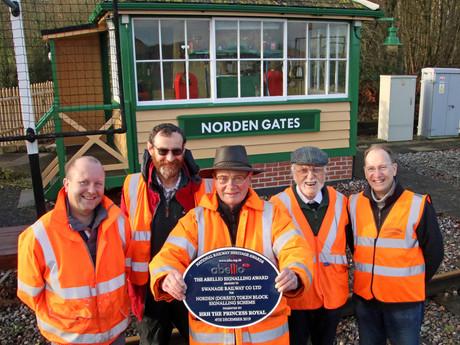 National Railway Heritage Award for an Innovative Signalling Scheme