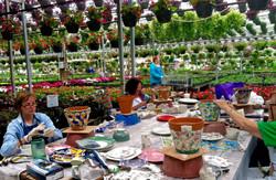 Picassiette Planter Class at Painter
