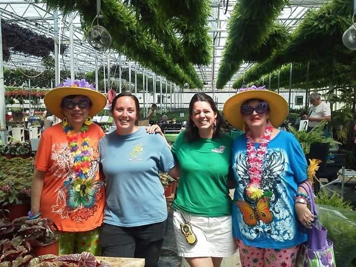 Growers with Maude & Ethel
