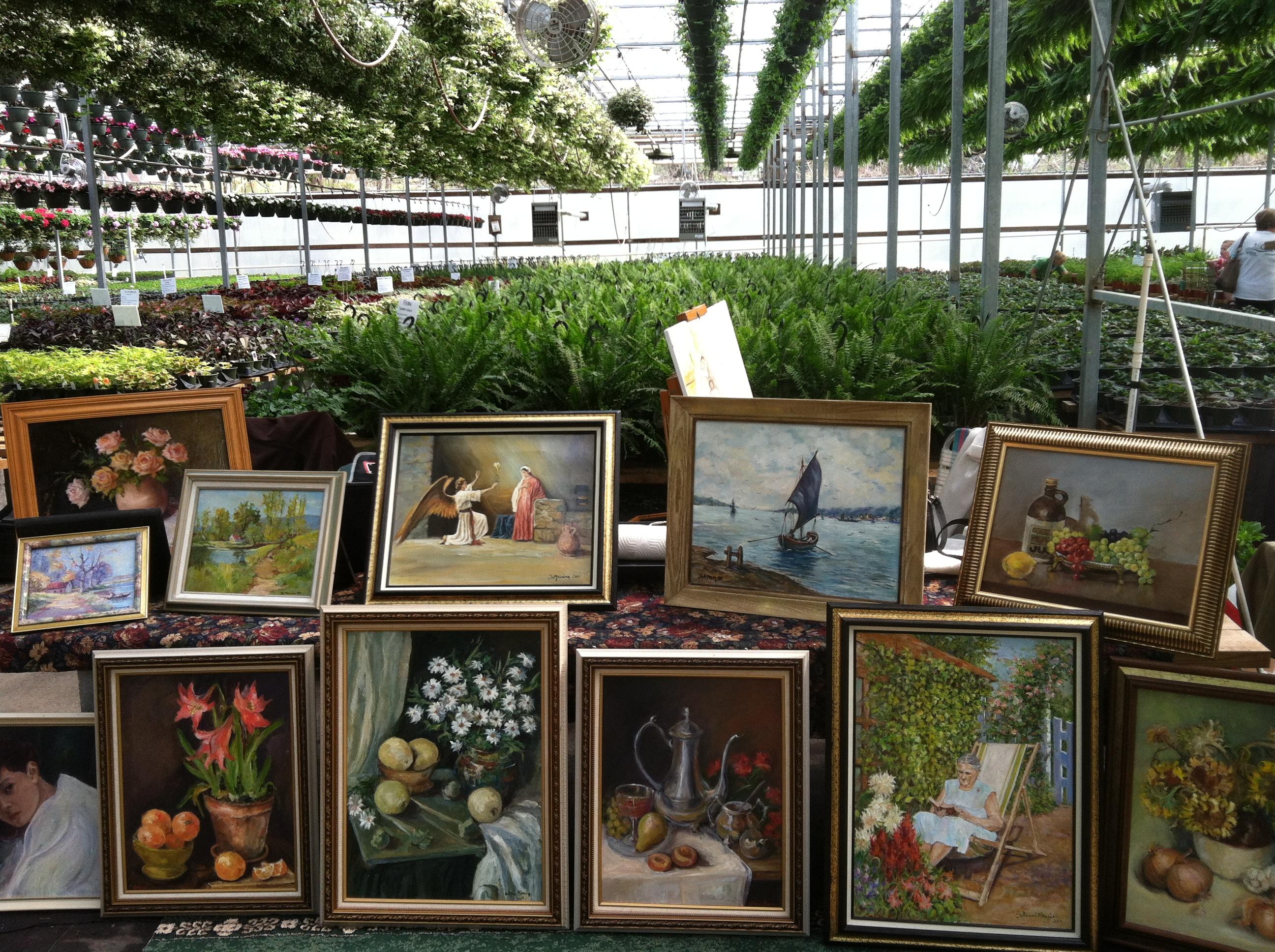 HerbFest Juliana Paintings.JPG