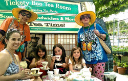 Tea Party at Herb Fest!