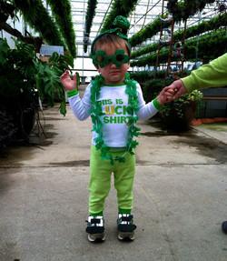 St. Patty's Day Costume winner