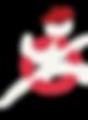 Logo final transparent white man beret c