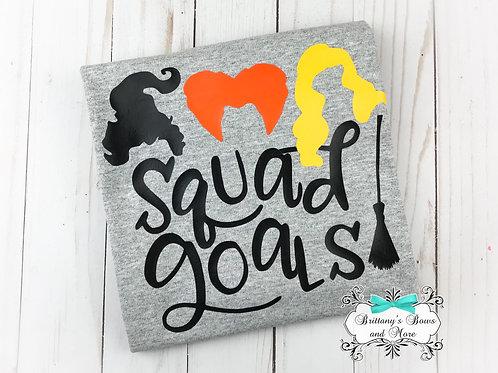 Hocus Pocus Squad Golas Shirt