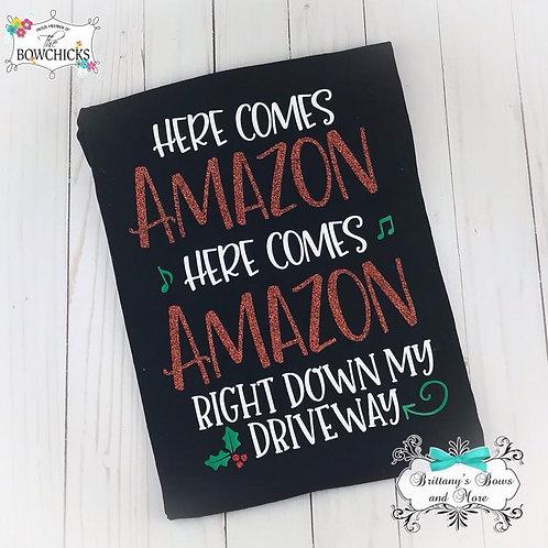 Here Comes Amazon Tee