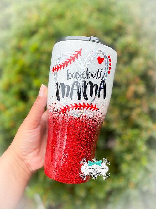 Baseball Mama Tumbler