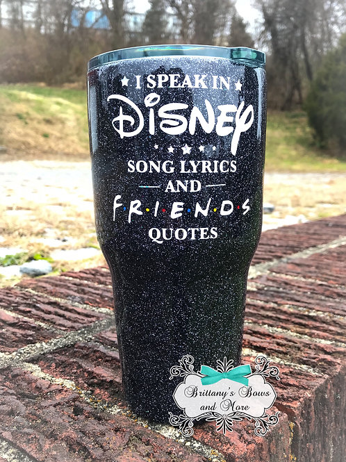 Disney and Friends Tumbler