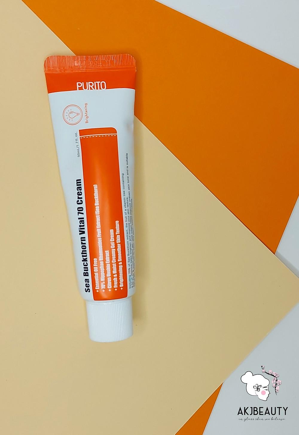 PURITO - Sea Buckthorn Vital 70 Cream