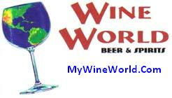 -wine world logo with web site--use only