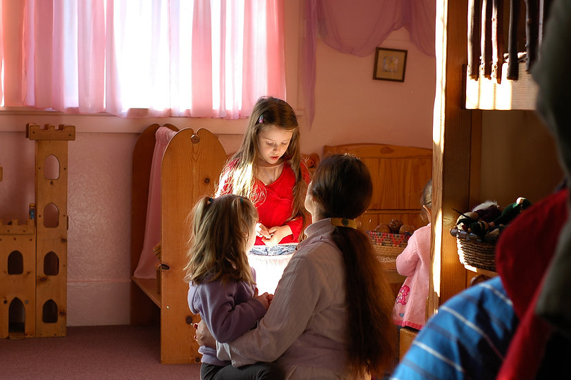In a Waldorf preschool or kindergarten play is central to future academic success.