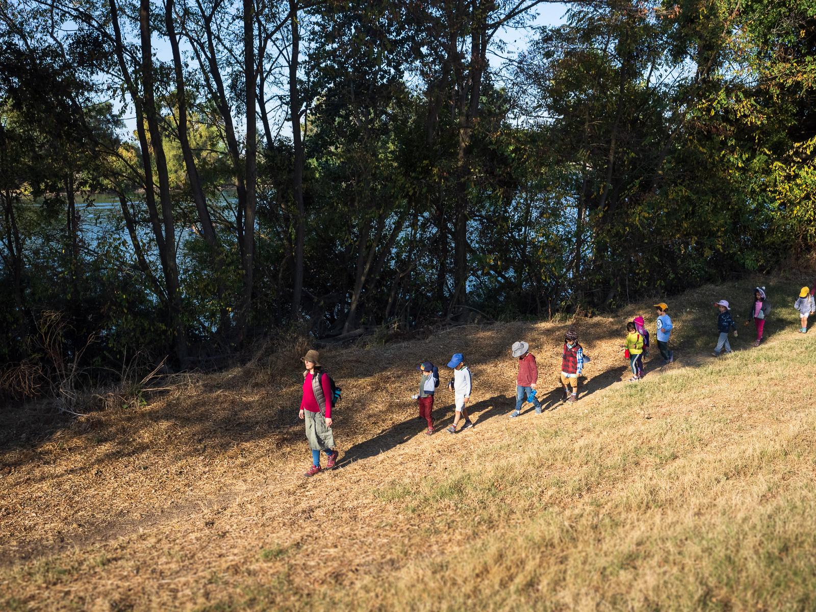 Nature Walks in Waldorf Preschool