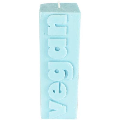 VEGAN Block Pillar Candle