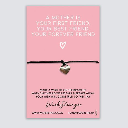 MOTHERS FIRST FRIEND - Wish String