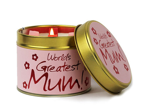 WORLDS GREATEST MUM Scented Candle