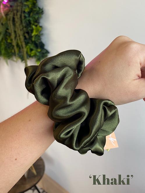 The Golden Hour Silk Scrunchie