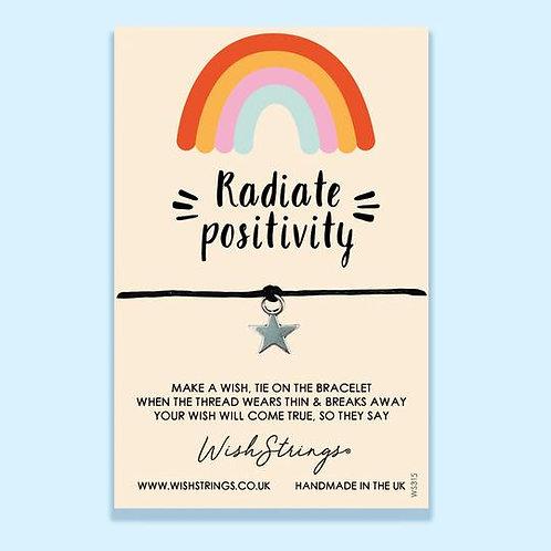 RADIATE POSITIVITY - Wish String