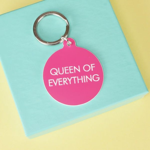 QUEEN OF EVERYTHING KEYTAG