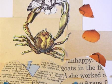 Artist attends own workshop-in-an-envelope part ONE
