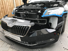 Front bumper removal