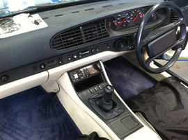 Headunit replacement on Classic Porshe