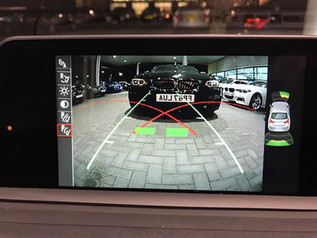 Rear camera integration with active guidelines