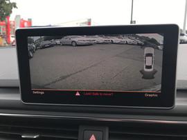Audi integrated rear camera