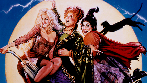 None of the Hocus Pocus witches had green hair, but they're still fabulous inspiration!