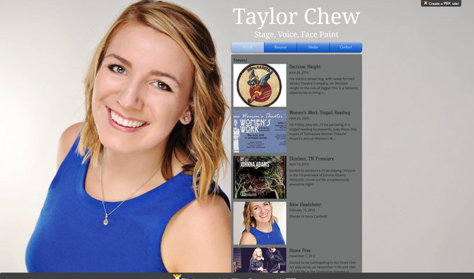 Taylor Chew: Power Washed