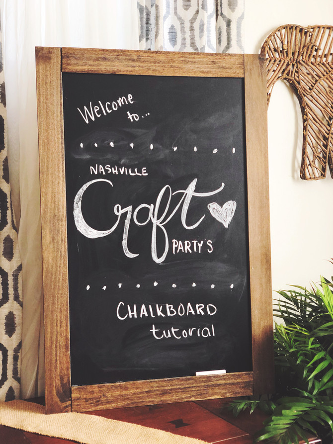 Build a Chalkboard from Scratch