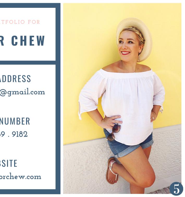 Chew Visual Portfolio 6