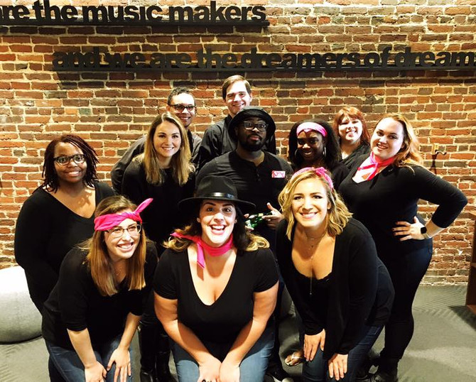 Stairwell to the Stage: A Cappella in Today's Workplace