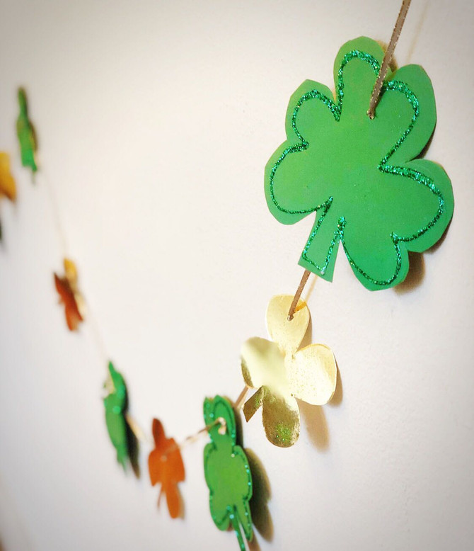Craft a Fun and Cute St. Patrick's Day Garland