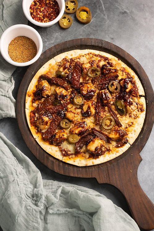 Barbeque Paneer Pizza