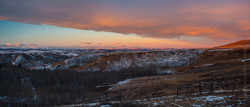 Glenbow, Alberta Sunrise