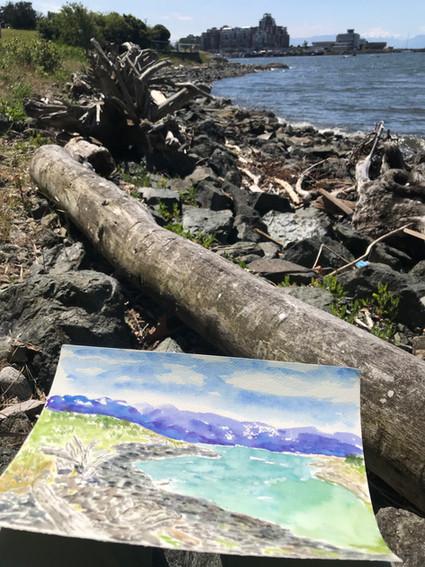 Alfresco Painting on the West Coast