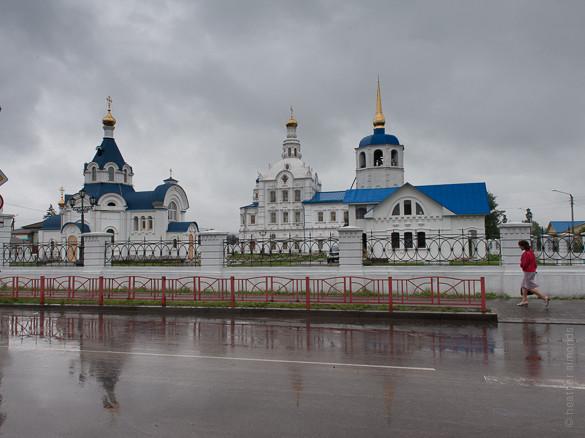 Ulan Ude, Siberia, Russia, church