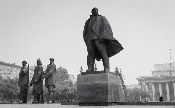 Lenin, Russia, Siberia