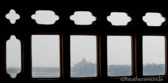 Taj Mahal, Red Fort, Agra, India