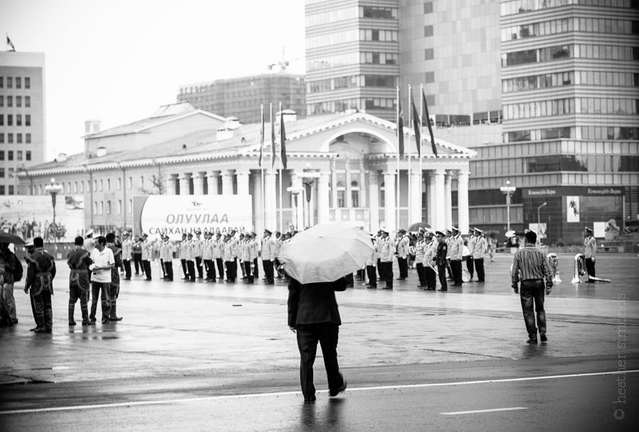 Nadaam, Mongolia, parade