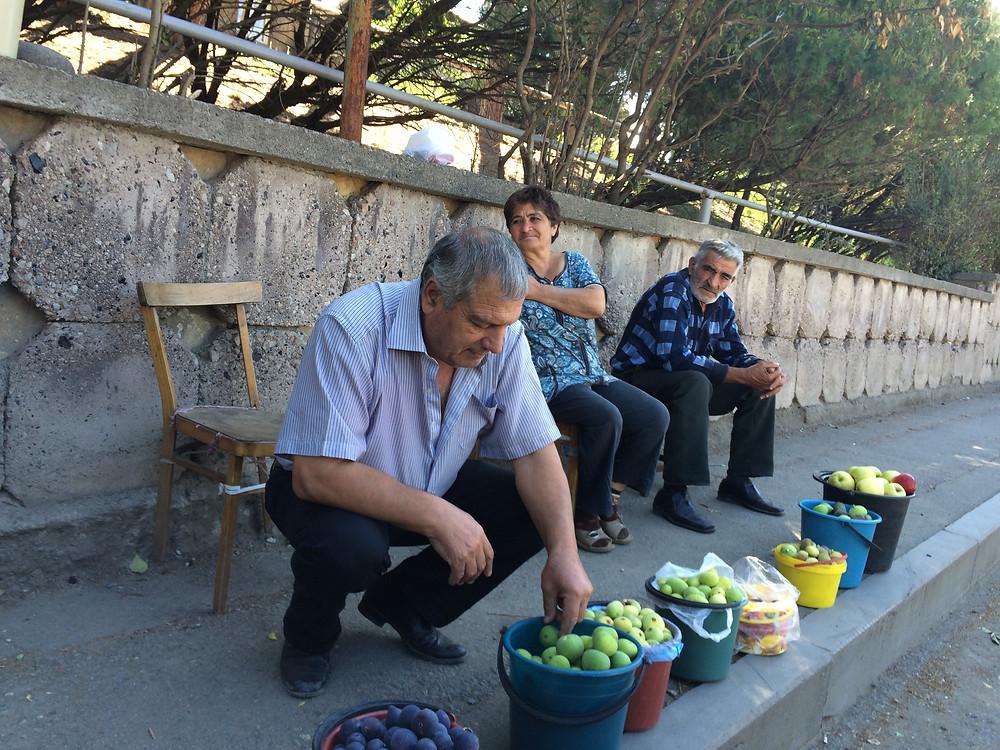 Armenia farmers figs
