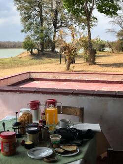 Lifupa Breakfast with Elephants