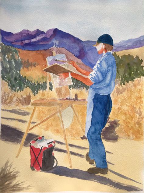 Desert Painter