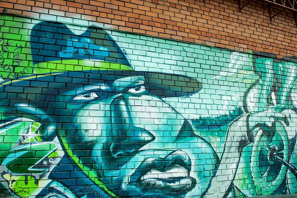 Siberia, Siberian art, graffiti