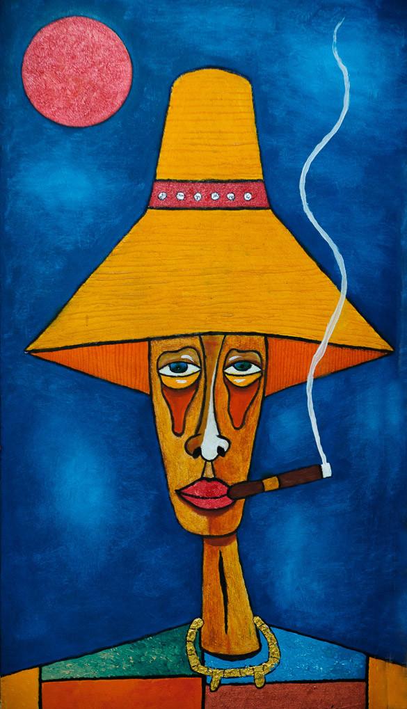 Cuba, color, art